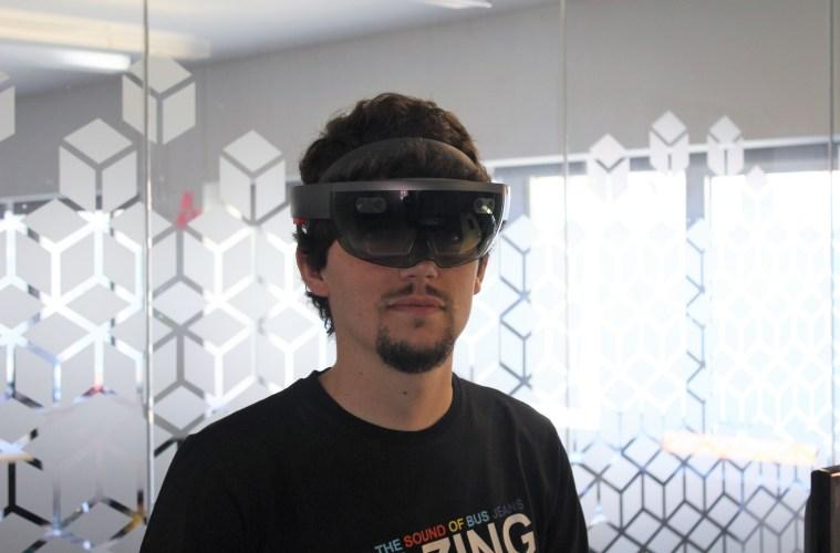 HoloLens primeiro contacto