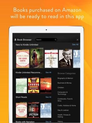 Amazon Kindle - iOS e Android