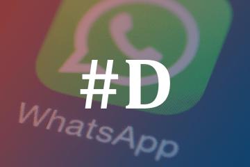 WhatsApp mensagens