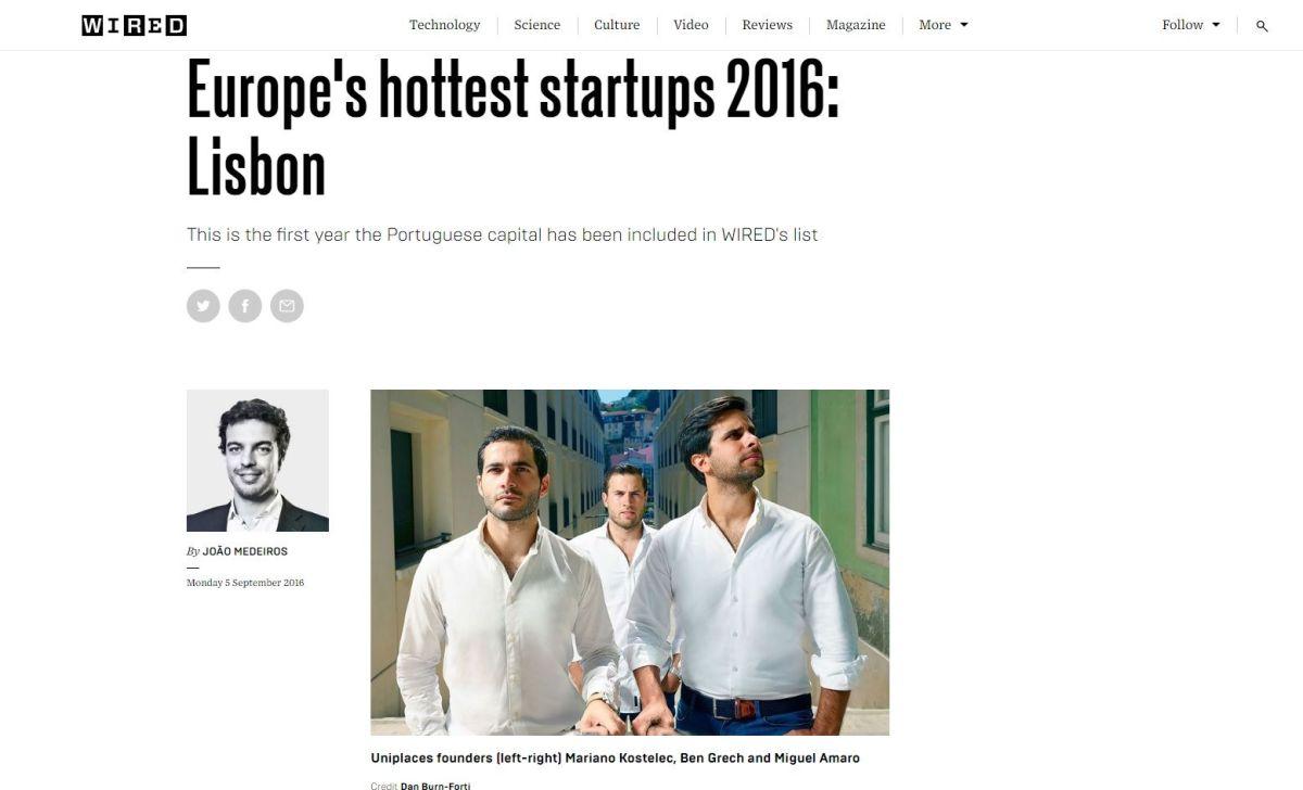 Empreendedorismo português Wired