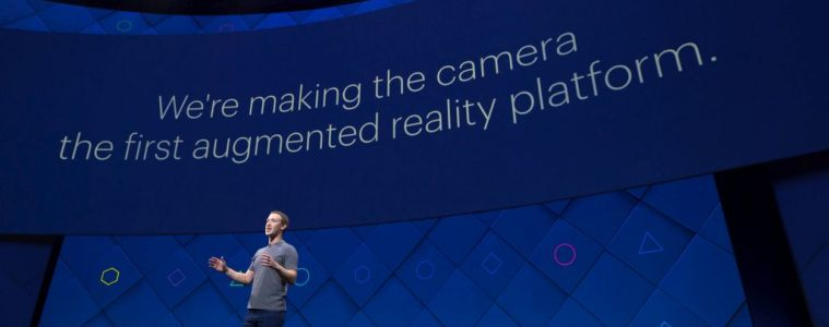 Facebook F8 Realidade Aumentada