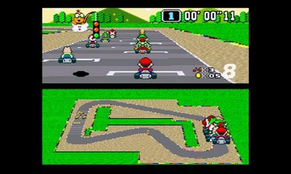 SNES Mini - Super Mario Kart