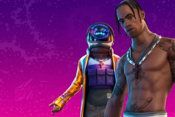 Fornite Travis Scott