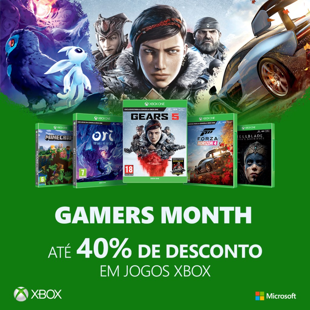 Xbox Gamers Month