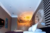 attractive lighting in bedroom