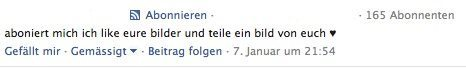 Facebook Kommentar Spam II