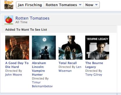 Facebook Open Grapn Anbindung Rotten Tomatoes