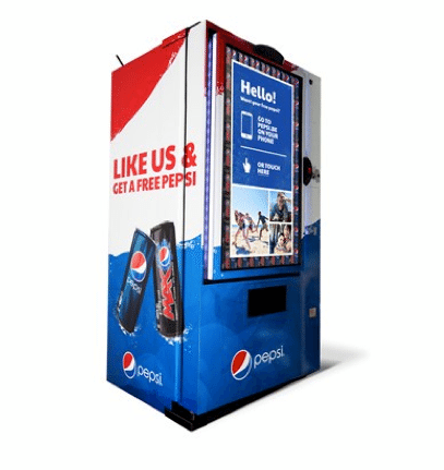 Pepsi Belgien - like Machine