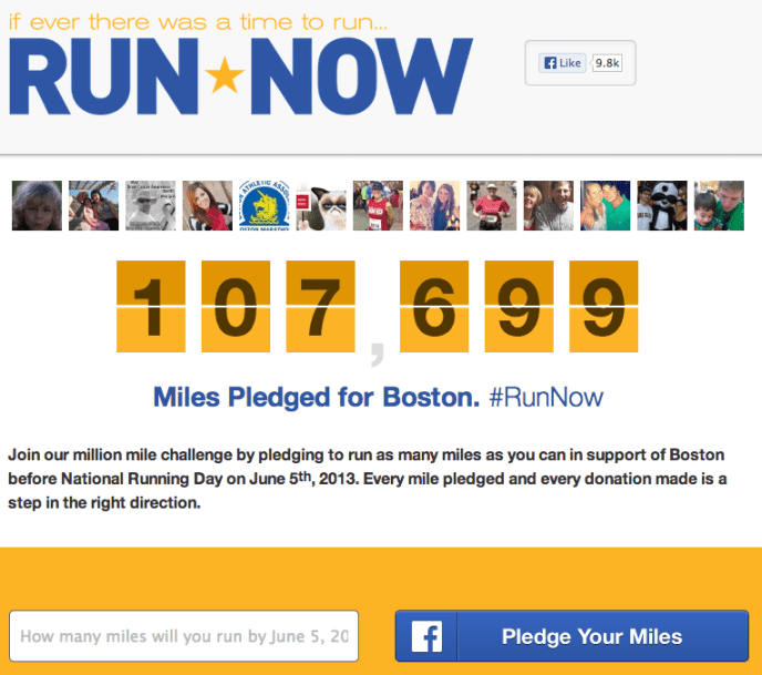 #RunNow - Kampagne