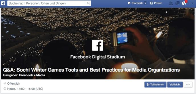 Facebook Q&As