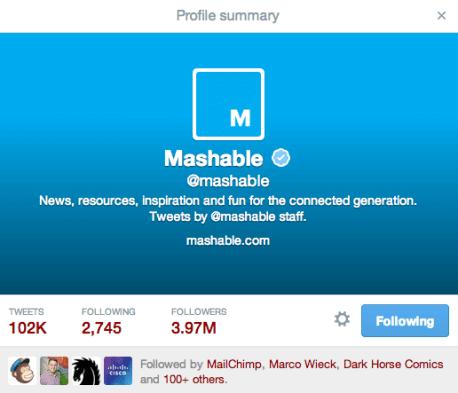 Neues Twitter Design - Wo wird as Header-Bild angezeigt