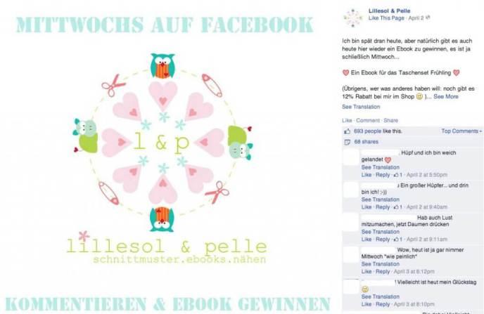 Facebook News Feed Algorithmus - Betteln und Chronik Gewinnspiele