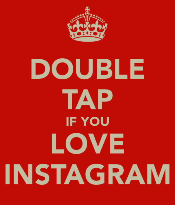 Interaktionen auf Instagram - Double Tap if you like Instagram