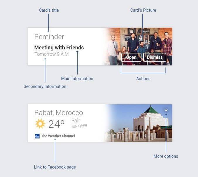 Facebook Cards - Konzept von Amine Zafri