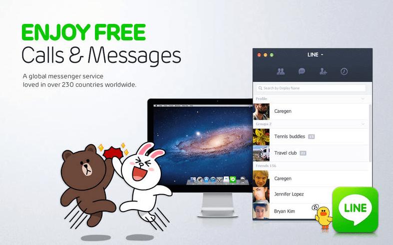 Line mobile Messenger - App Store