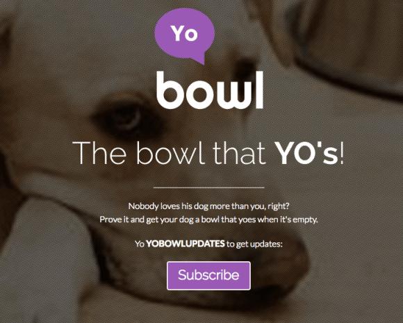 Yo Messenger bietet vielfältige Einsatzmöglichkeiten - Yo Bowl