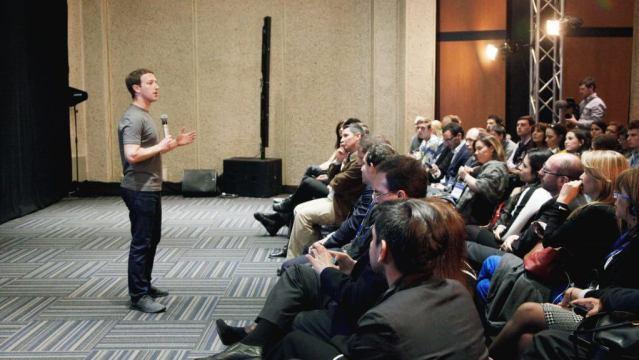 Mark Zuckerberg Q&A - Facebook News Feed Algorithmus und chronologische Ausbgabe von Inhalten