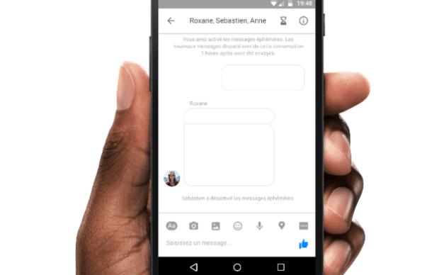 Facebook testet selbstzerstörende Nachrichten im eigenen Messenger