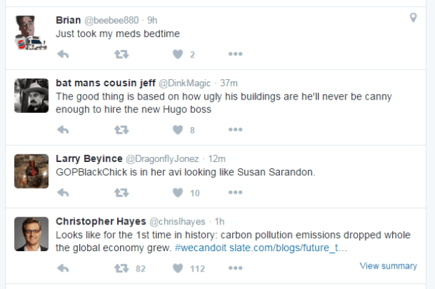 Twitter Algorithmus - Test für Ausgabe von Tweets in der Twitter Timeline