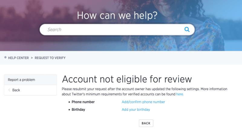 Twitter Account verifizieren - so wird es gemacht