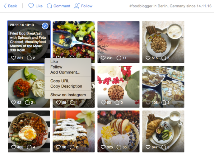 Instagram Marketing-Automation - automatisch-bilder-liken