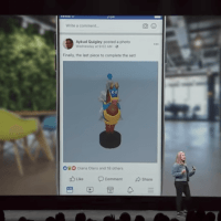 Facebook 3D Posts: Den News Feed gibt es bald auch in 3D.