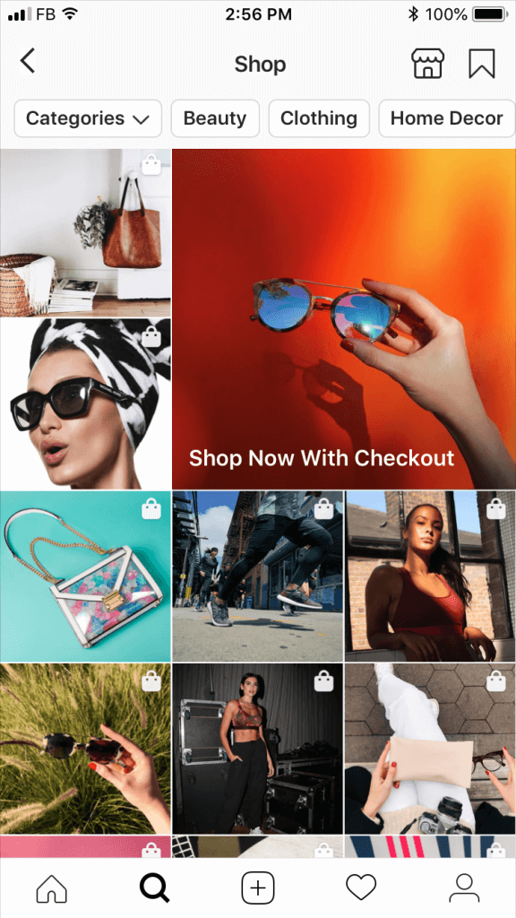 Instagram-Explore-Shopping-Design
