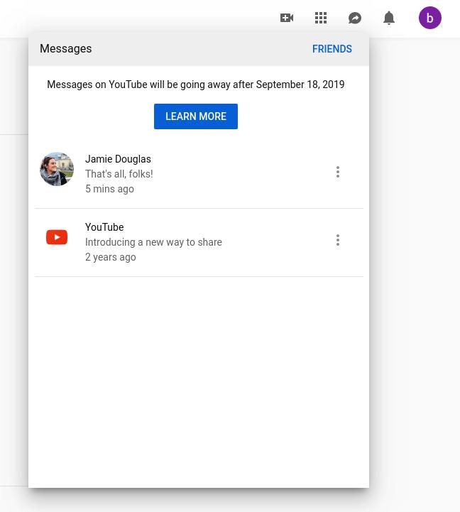 Für Facebook liegt die Zukunft im Private Messaging und YouTube schaltet seine Direktnachrichten-Funktion ab.