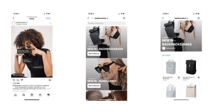 Instagram-Shops-Ökosystem
