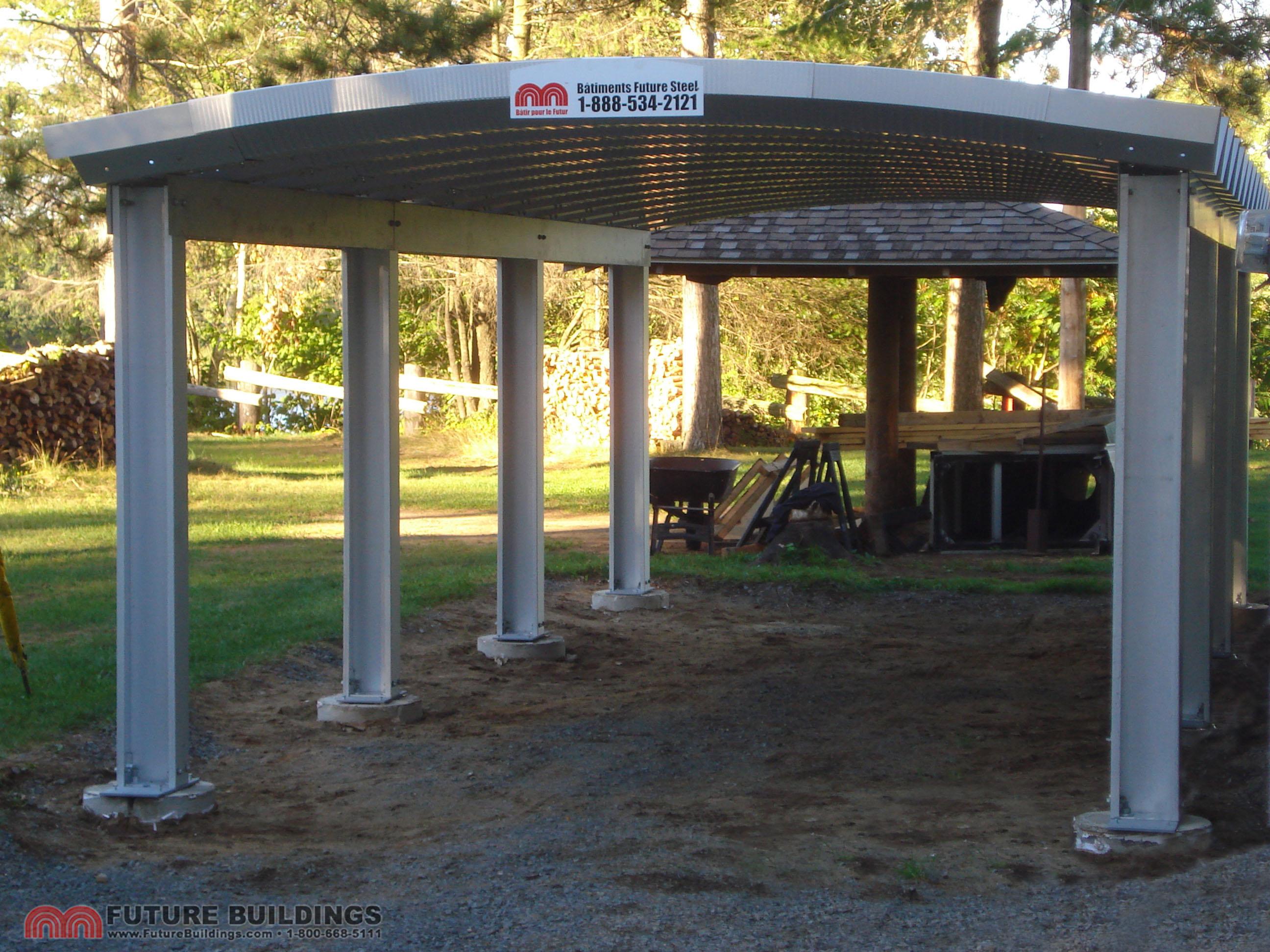 Metal Carport Kits Amp Steel Shelters Steel Carport Kits Do Yourself