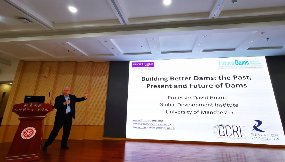 'Building better dams: the past, present and future of dams' – University of Peking lecture by Prof David Hulme