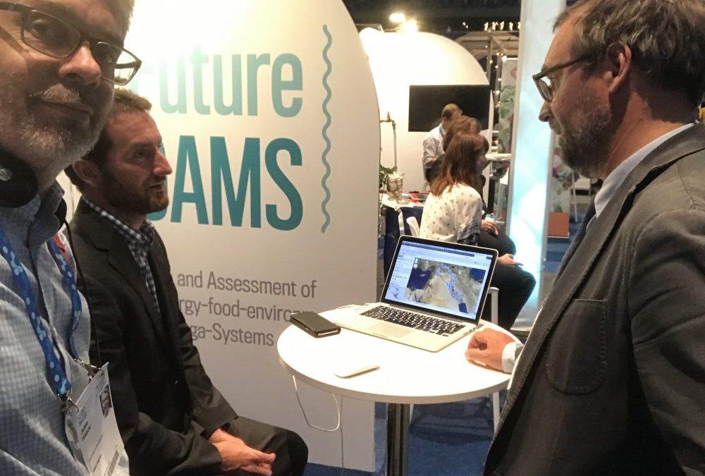 FutureDAMS at World Water Week