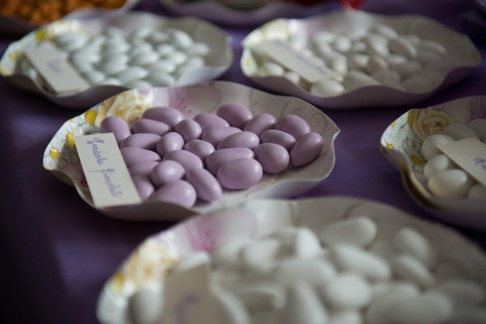 I confetti e le bomboniere