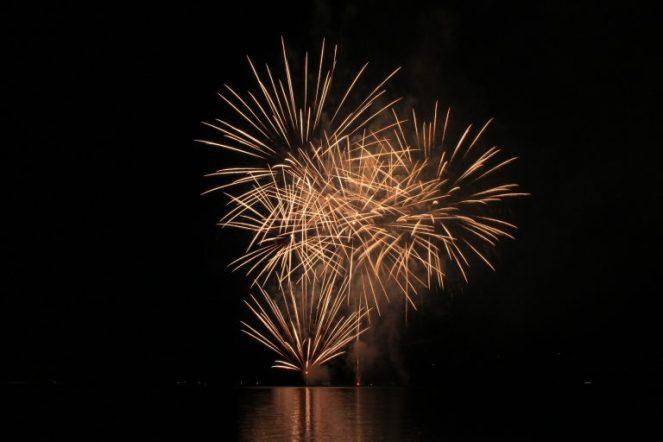 Fuochi d'artificio per matrimonio