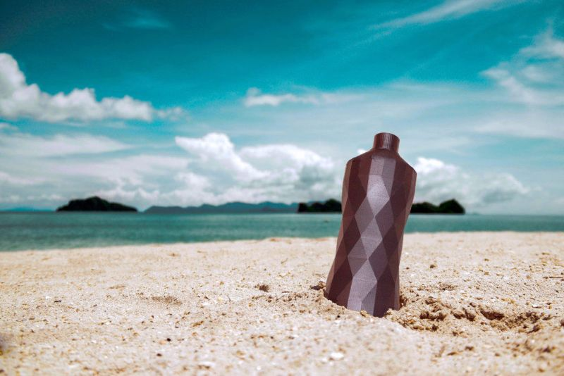 Is 3D Printing The Answer To Ocean Pollution, Clean Currents Reusable Water Bottle