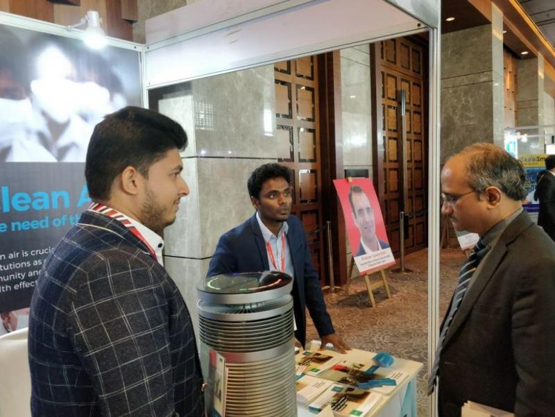 Vistar – A Smart Air Purifier Developed by IIT Madras Startup AirOk