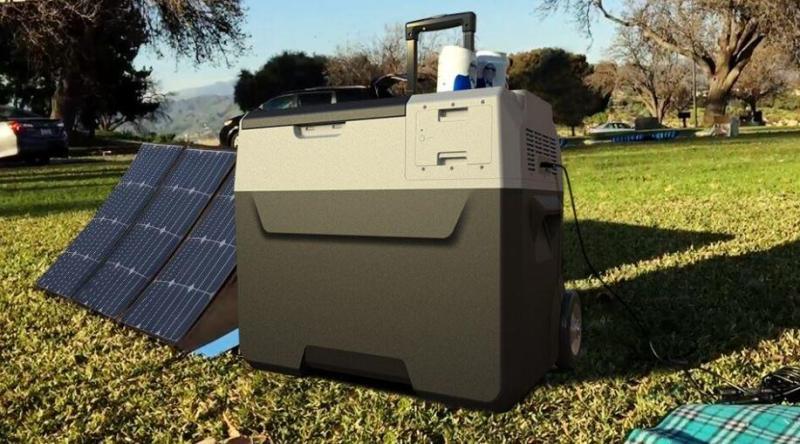LiONCooler | Solar-Powered First Smart Portable Cooler, Freezer
