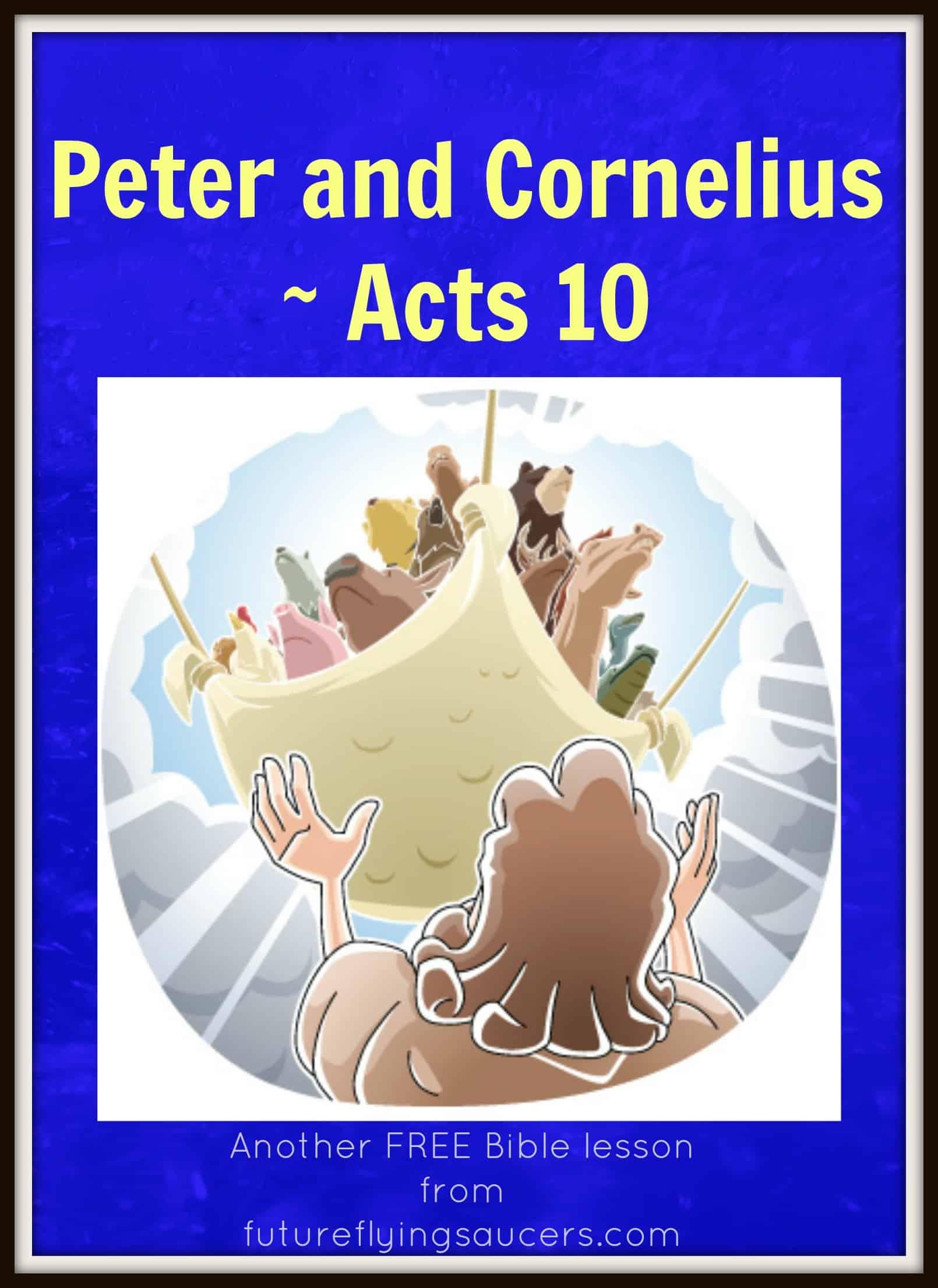 Peter And Cornelius Acts 10