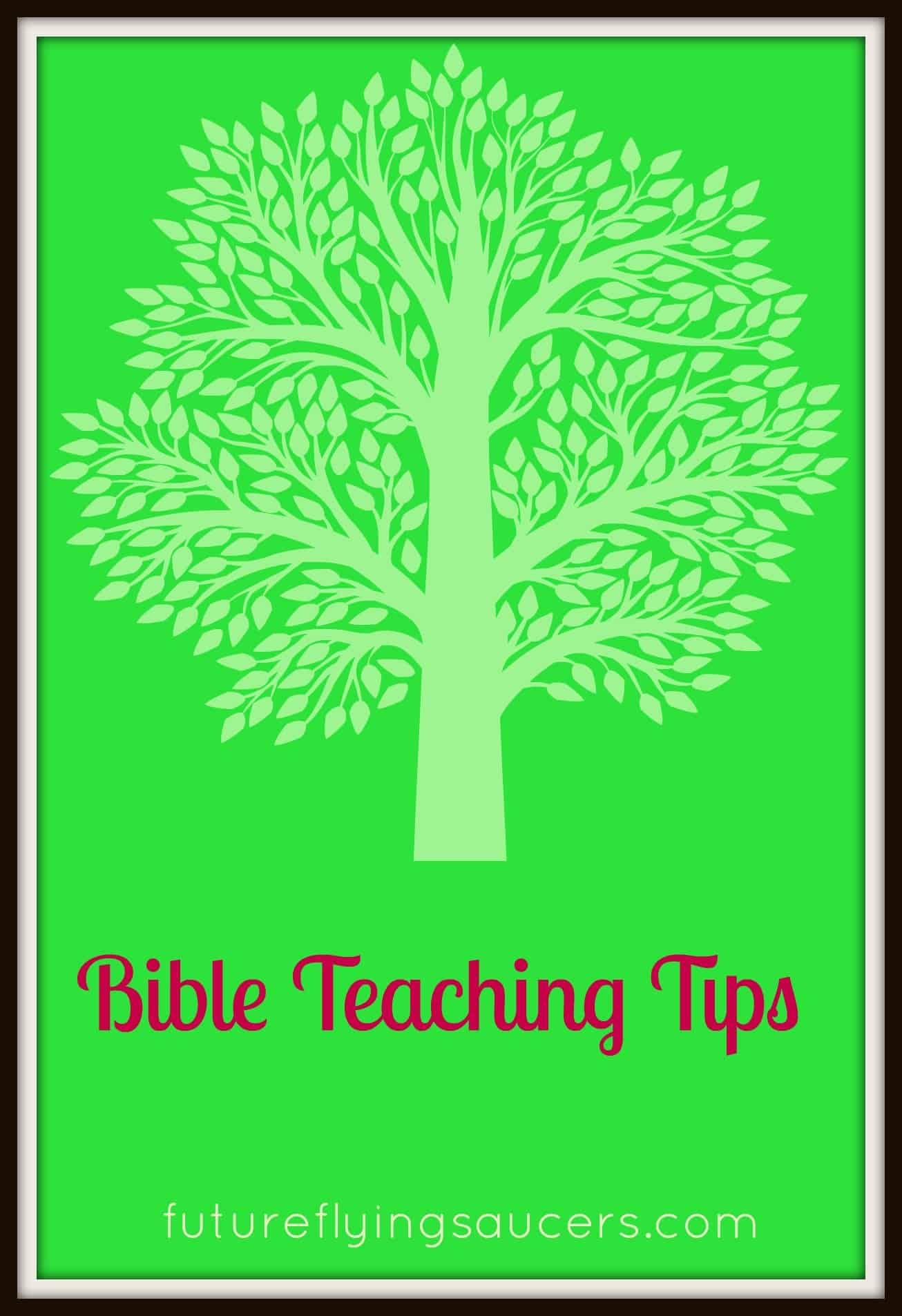 bible teaching tips future flying saucers