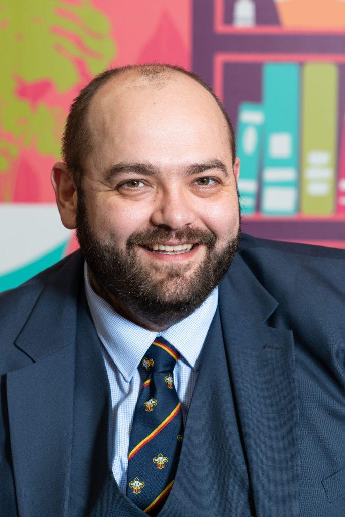 Richard Flowerdew, Head of Strategy, Scouts Cymru