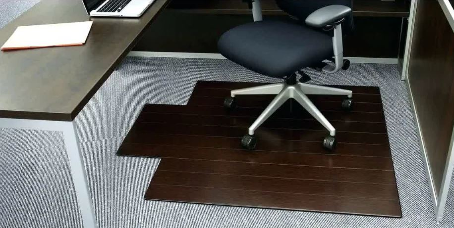 Home Carpet Chair Mat Computer Floor Office Working 48*36 PVC Protective Pad USA