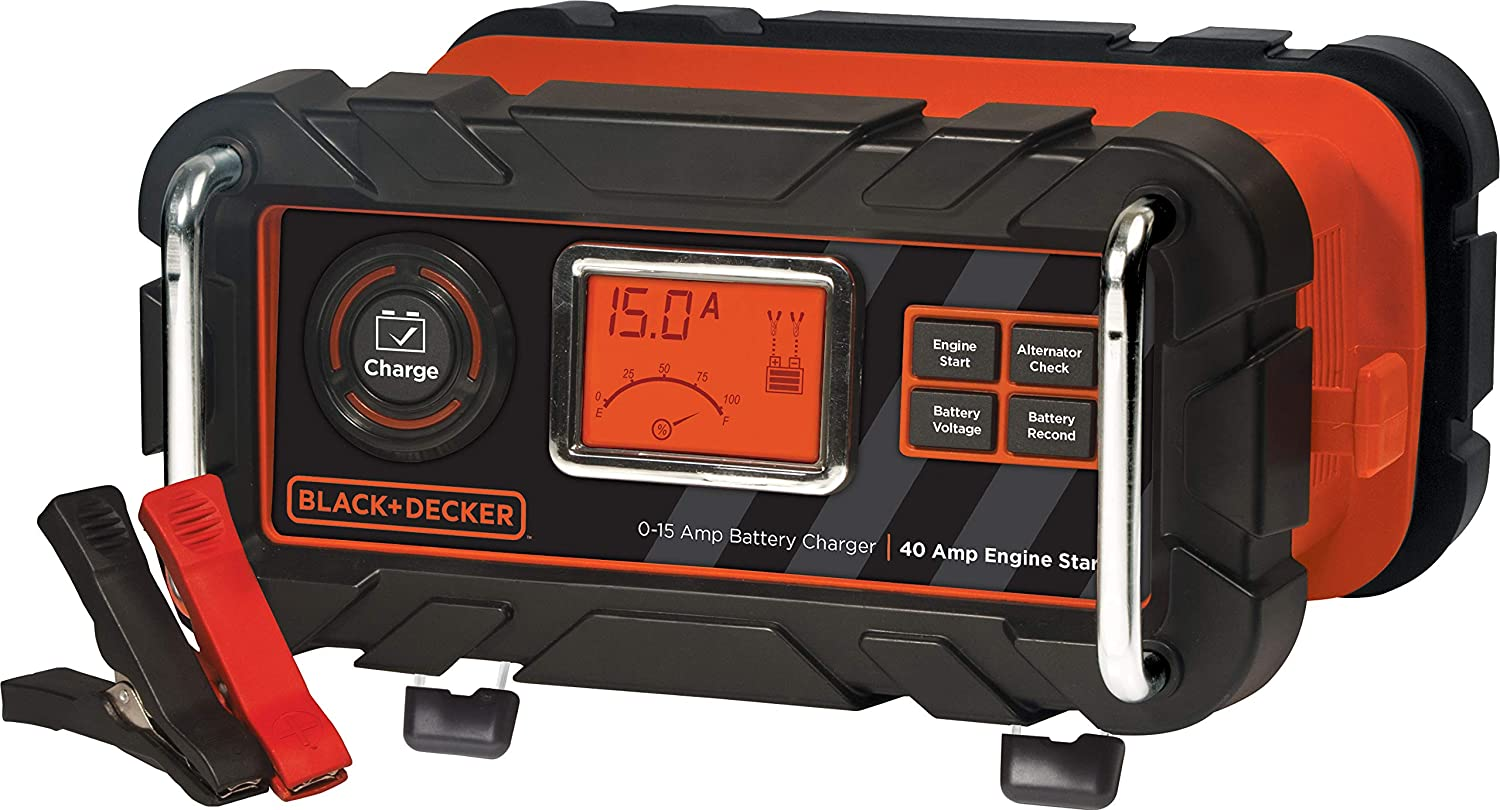 BLACKDECKER BC15BD - 7 Best Battery Maintainer Reviews & Buyer's Guide 2020