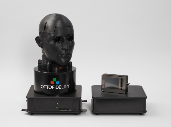 VR Latency Testing Platform For Metering Virtual Reality Quality With VRMark From Futuremark and OptoFidelity
