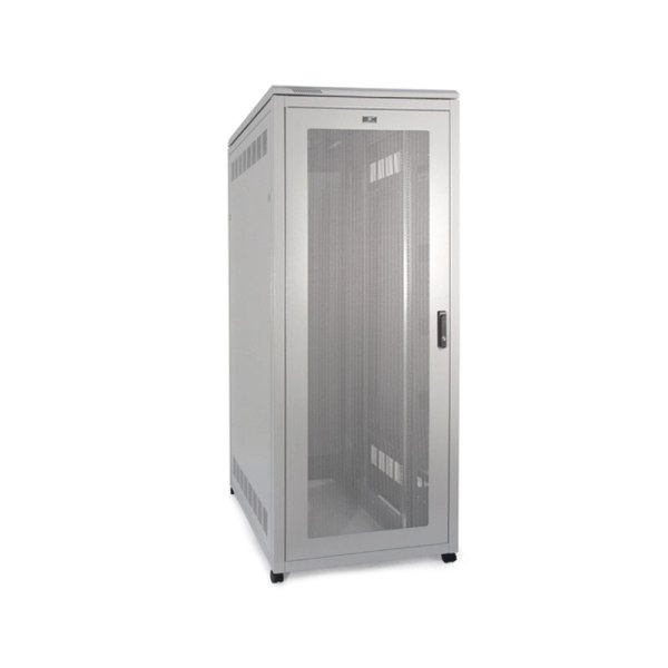 Prism Server Cabinet 800mm Wide with the door closed.