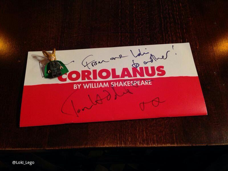 Coriolanus Programme 2