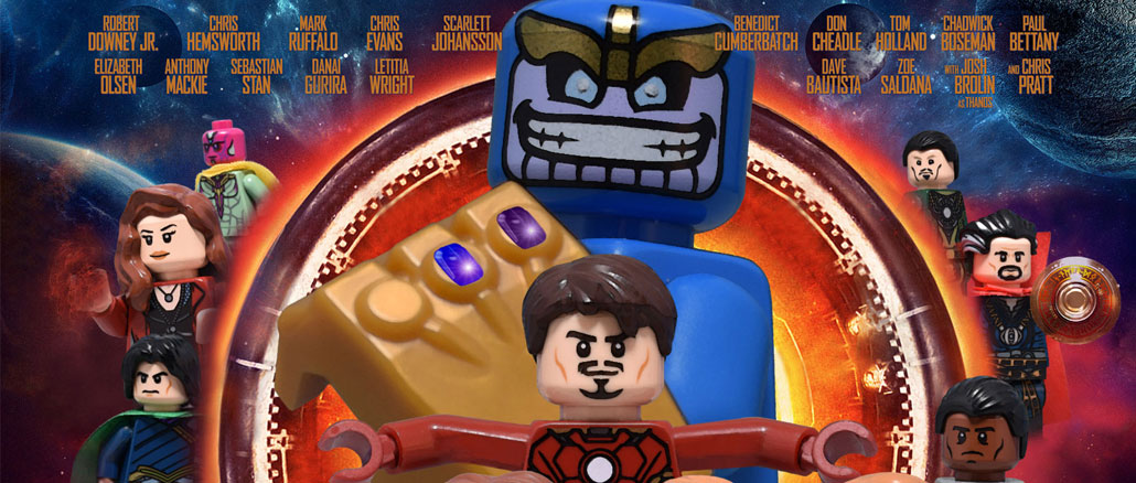 Avengers Infinity War Poster Recreated in LEGO