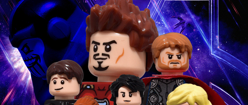 Avengers Endgame Poster Recreated in LEGO