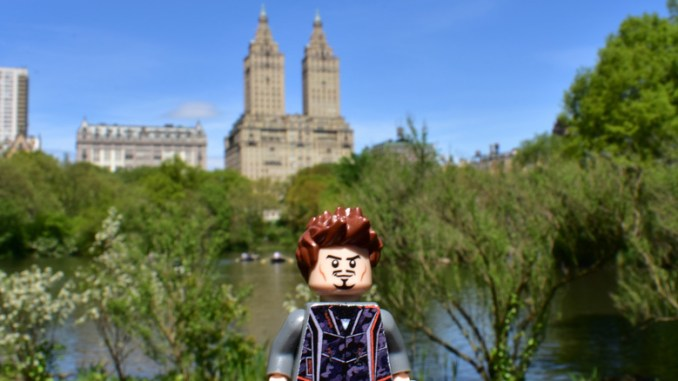 Central Park Avengers Infinity War