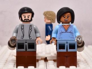 LEGO betrayal scene one