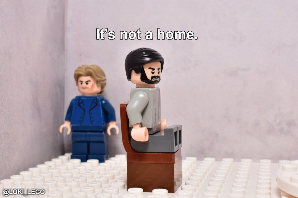 LEGO Betrayal Scene Three